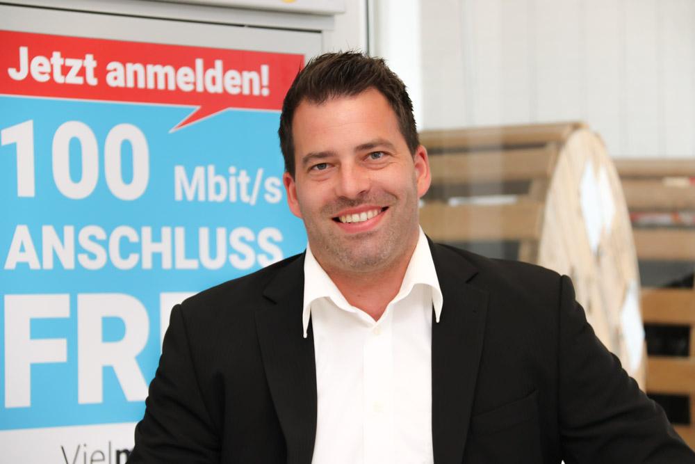 Ihr hxneXt Berater für Geschäftskunden, Herr Sascha Hornig, berät Sie zu allen Fragen rundum Ihren Firmenanschluss an das schnelle, zukunftsfähige Breitbandinternet.